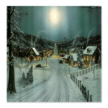 thomas kinkade shower curtain curtains shower curtains and christmas villages on pinterest