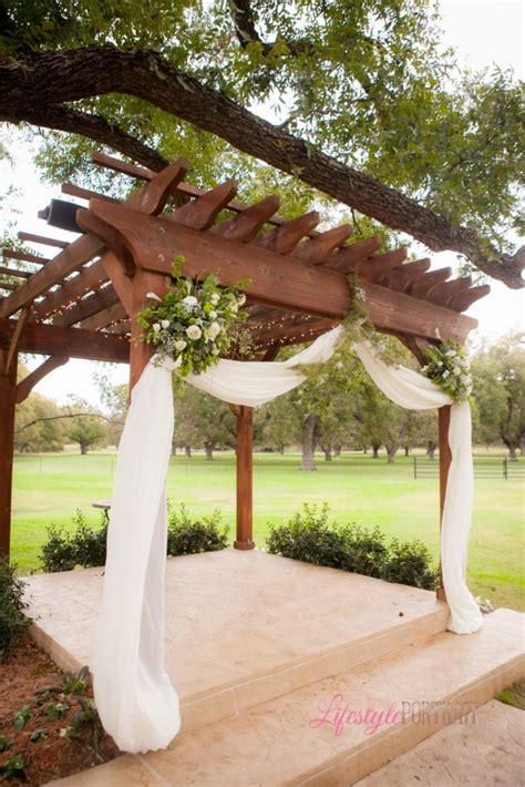 25 best ideas about wedding pergola on pinterest