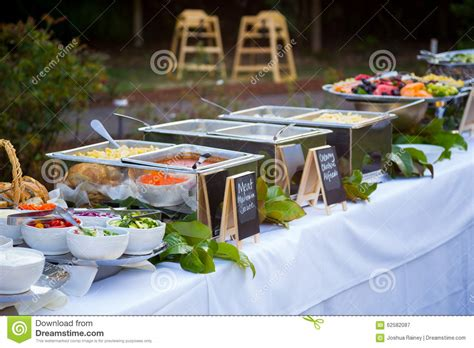 buffet wedding reception wedding reception buffet dinner stock photo image 62582087