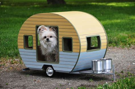 dog house line vintage style pet trailers for dogs by straight line designs retro to go
