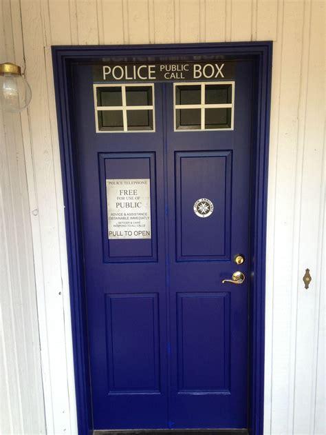 Tardis Front Door Doctor Who Tardis Front Door Home Tardis Blue Front Door