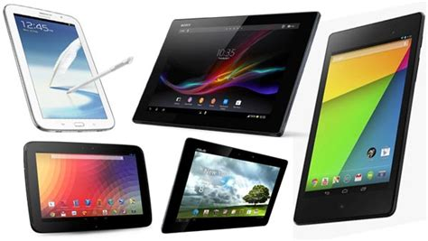 best for android tablet the best android tablets 2014 comparison chart android vip club
