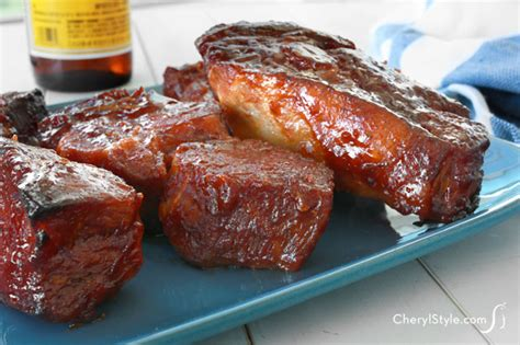 simple country style ribs recipe country style barbecue pork ribs recipe