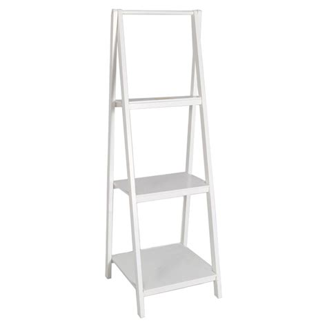 Creative White Ladder Bookcase Doherty House Look White Ladder Shelf Bookcase