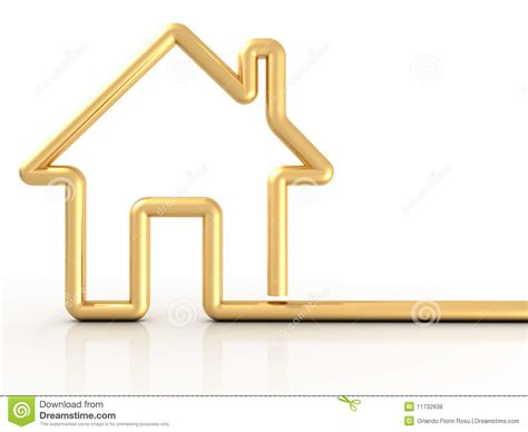house of gold instrumental gold house royalty free stock photos image 11732938