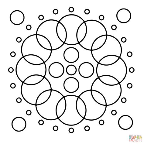 circles coloring page coloring home