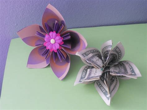 How To Make Money Origami - how to make a money origami kusudama flower