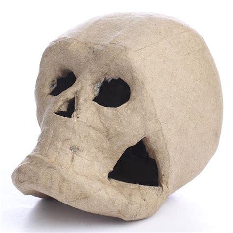 paper mache craft supplies paper mache skull paper mache basic craft supplies