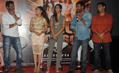 action jackson film actor first look launch of action jackson ajay devgn prabhu