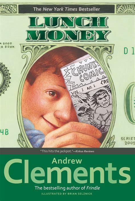 the of money books lunch money book by andrew clements brian selznick