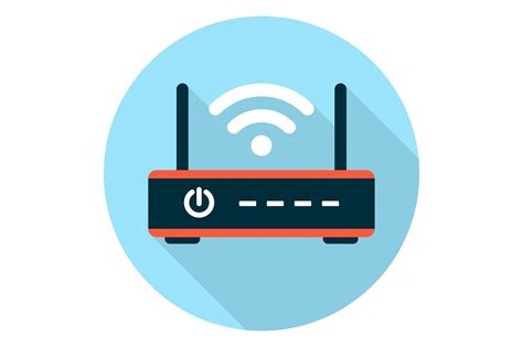 Router Wifi Media wifi router icon flat icons creative market