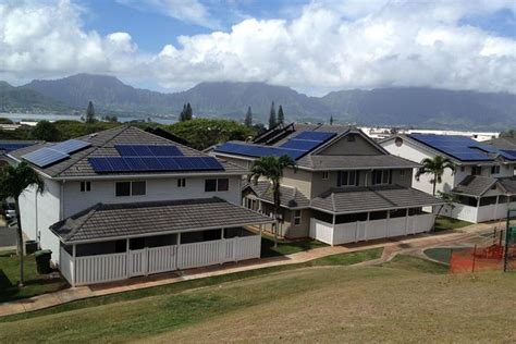 Hawaii Army Base Housing by Solarcity Forest City Team Up For Hawaii Housing