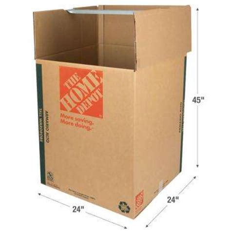 wardrobe boxes home depot moving supplies storage organization the home depot