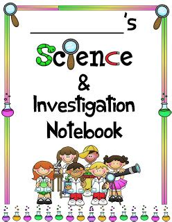 printable science journal cover notebook clipart science notebook pencil and in color