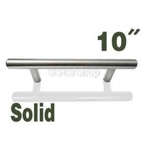 Kitchen Cabinet Pulls Brushed Nickel 10 Brushed Nickel Kitchen Cabinet T Bar Pull Handle Knob Hardware 6 95 Shipping Ebay