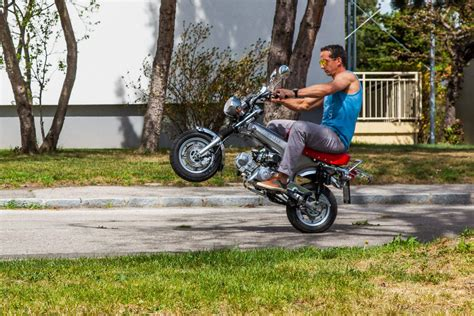 Mini Motorrad Gorilla by Testbericht Skyteam Gorilla 125 Skymax 125 Pbr 50