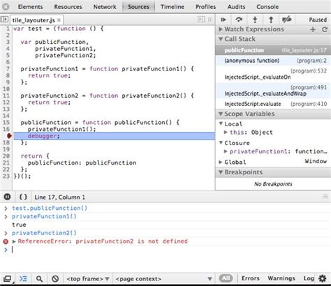 revealing module pattern javascript dan wahlin javascript debugging revealing module pattern functions