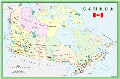 tourist map of canada map of canada tourist travelquaz