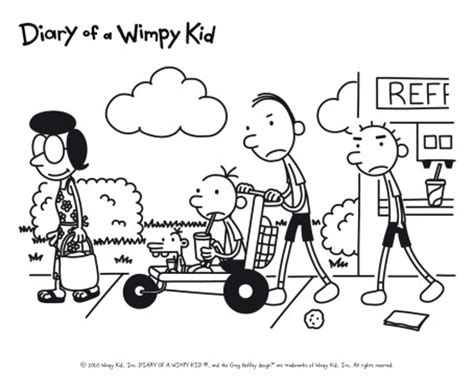 Characters In Diary Of A Wimpy Kid Cabin Fever by Image The Heffleys In Days Jpg Diary Of A Wimpy