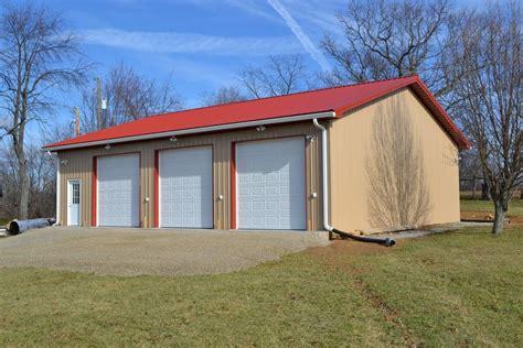 3 Door Garage Plans by Virginia Barn Company Barn Construction Contractors