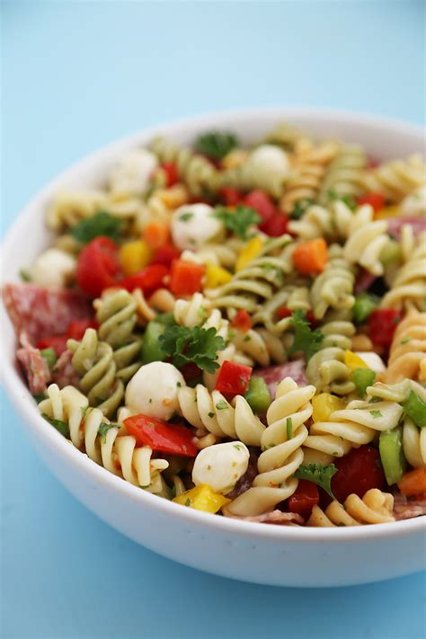 cold pasta salad with italian dressing rotini pasta salad with italian dressing