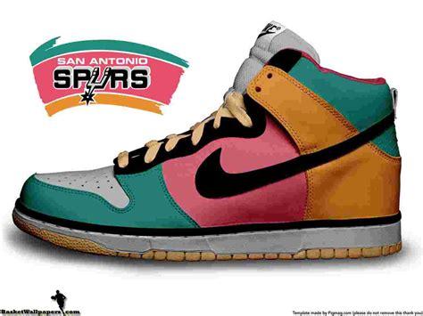 throwback basketball shoes san antonio spurs retro logo wallpaper basketball