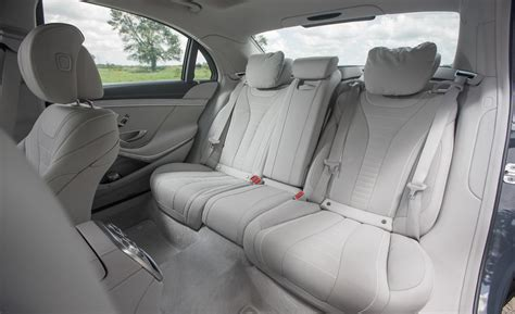 2014 S550 Interior by Car And Driver
