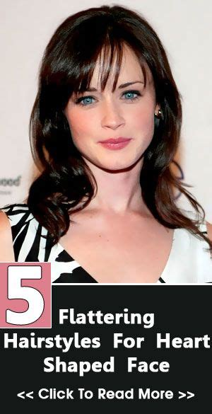 hairstyles for heart shaped faces 20 flattering cuts 5 flattering hairstyles for heart shaped face