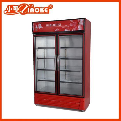 fridge freezer glass door 600liter industrial fridge freezer glass door refrigerator