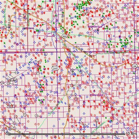 texas rrc maps barnett shale maps blum texas hill county area from tx rrc