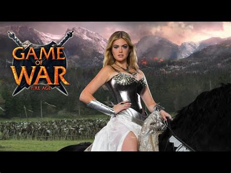 game of war live action trailer with kate upton youtube game of war live action trailer ft kate upton who i