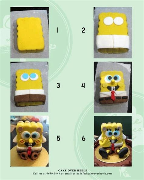 origami 3d bob esponja tutorial 17 best images about vincent s 3rd birthday spongebob