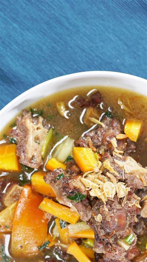 video sop buntut resep   resep masakan resep