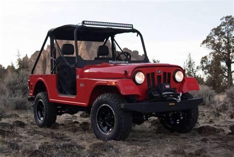 mahindra jeep mahindra roxor is the classic jeep you ve always wanted