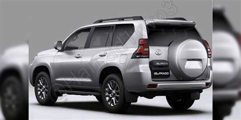 where is toyota from 2018 toyota prado facelift leaked update photos