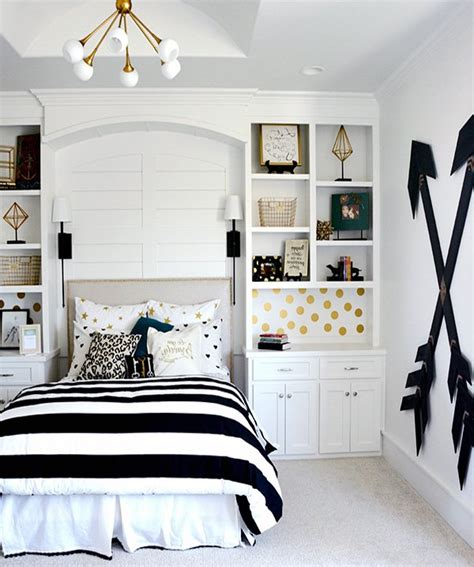 black and white teenage girl bedroom ideas stylish teen bedroom decorations