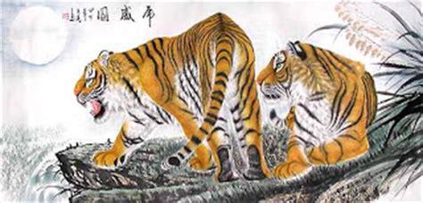 Lukisan Pemandangan Kung galeri lukisan harimau macan