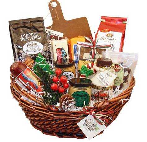 what to put in a christmas basket wisconsin gifts for basket northern harvest gift baskets