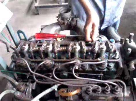 Mesin Diesel cara menyetel katup mesin diesel mobil