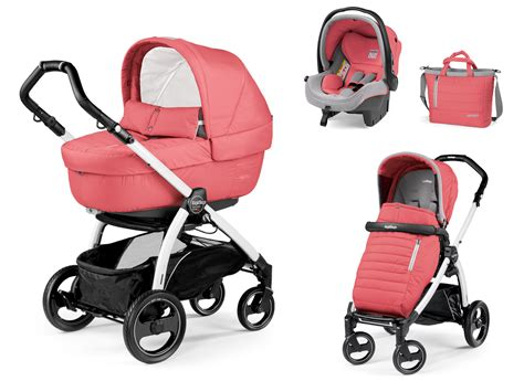 Peg Perego by Peg Perego Buggy Set Book S Modular Set Elite 2018