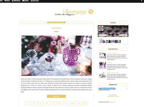 blogger zarabianie szablon blogger 3 żyj kochaj tw 243 rz