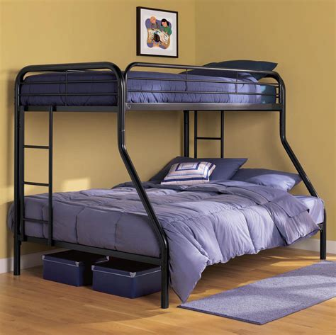 Bunk Bed For Adults Bunk Beds With Cool For Adults Black Metal Ladder New Ebay