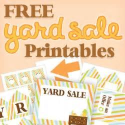 printable garage sale tags
