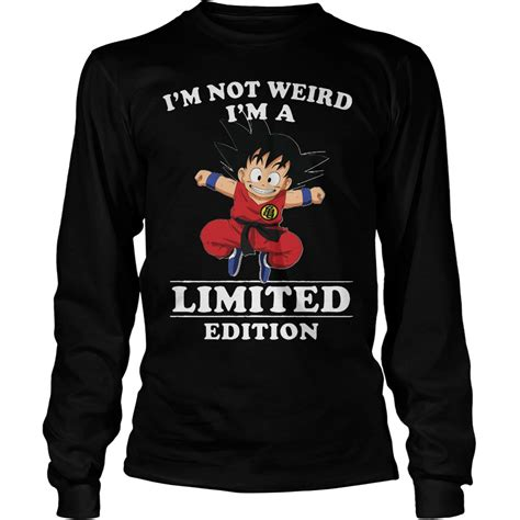 songoku i m not i m a limited edition shirt hoodie