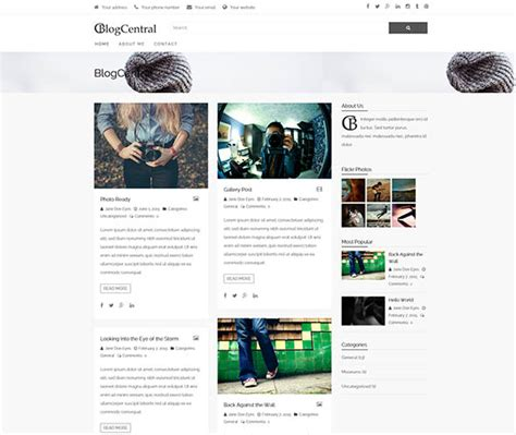 change layout of wordpress blog 60 best free personal blog wordpress themes 2018