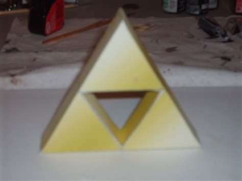 Triforce Papercraft - triforce papercraft by austinmeadows on deviantart