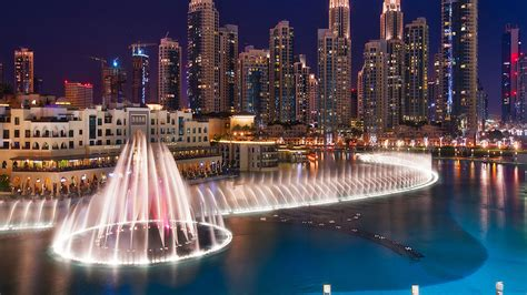 dubai fountainsfountain   burj khalifa lake