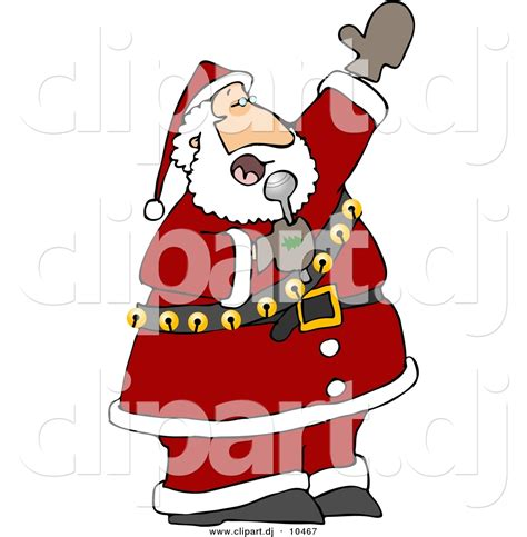 cartoon santa clipart 79