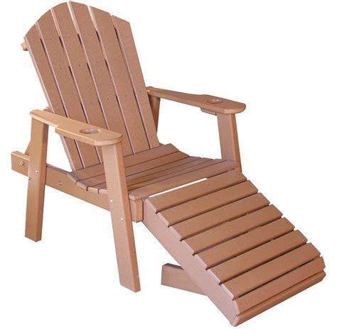 wooden chaise lounge chairs amish poly wood classic chaise lounge chair