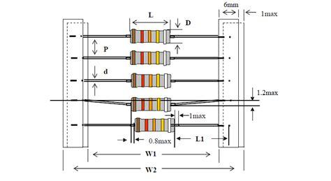 fusible power metal leaded resistors fusible non flammable metal leaded resistors 28 images anti burst fusible resistor rfb